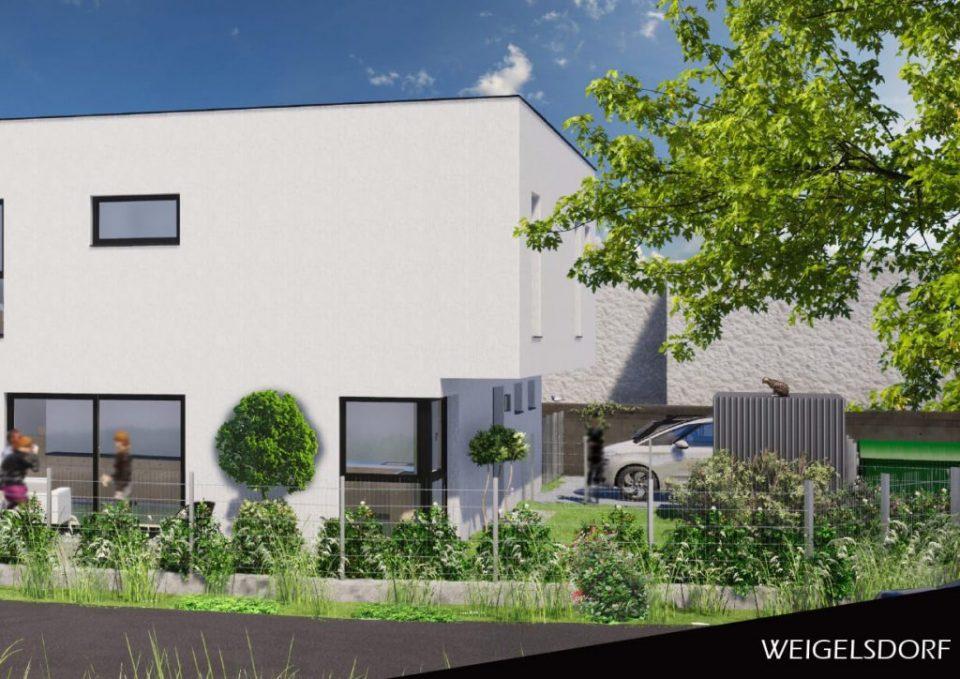Bauträgerprojekt Weigelsdorf